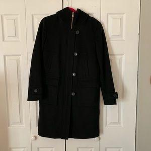 Black Michael Kors pea coat, great condition!